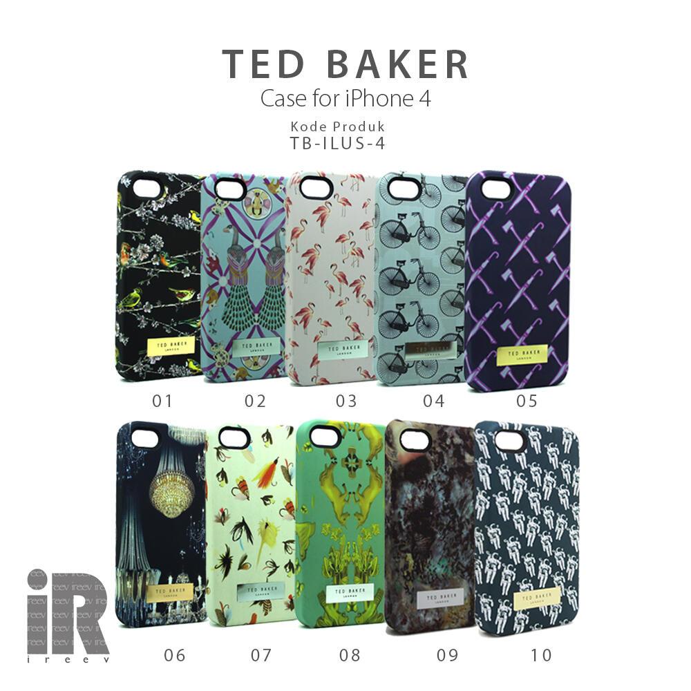 [IREEV] Ted Baker case untuk iphone 4 dan iphone 5. Kece abis gan