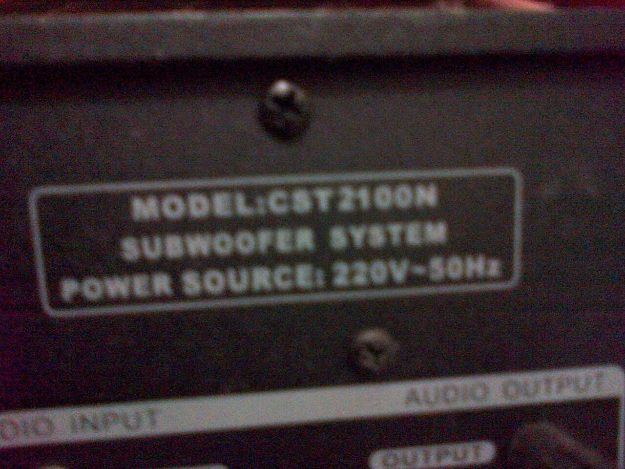 speaker simbada cst 2100