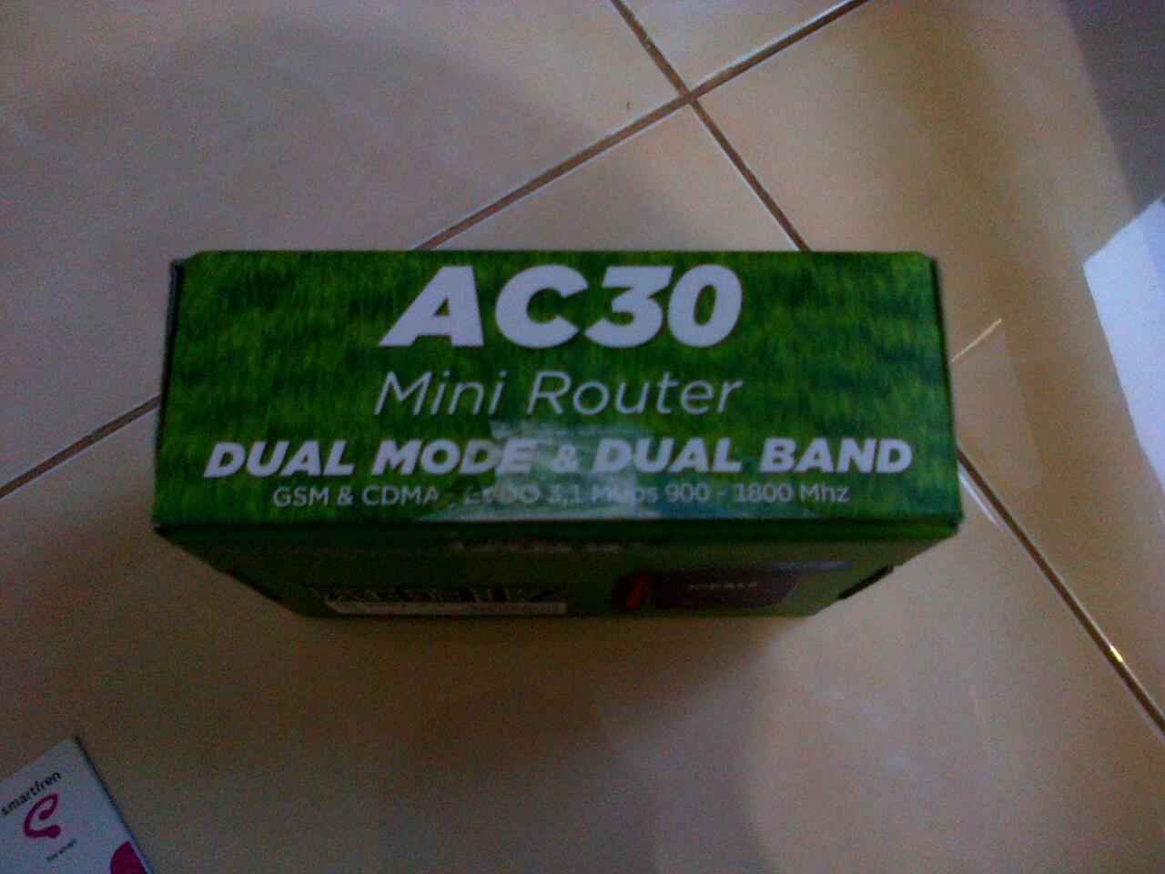 dijual modem ac30 mini router