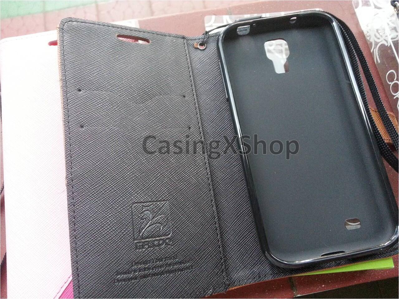[MR QOO] Fashion Bookcase for Samsung Galaxy S4, Iphone 5