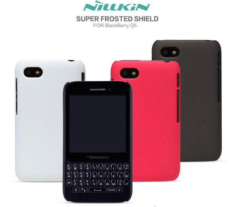 Nillkin Frosted Super Shield Hardcase Blackberry Q5 Free Ongkir