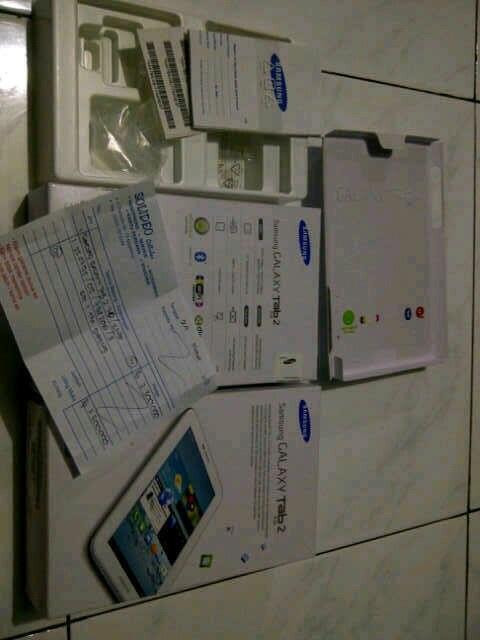 Samsung tab 2 GT-P3100 white 16GB