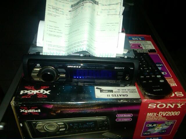 Sony MEX-DV2000