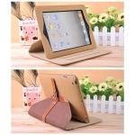 Rotate Case Ipad 2/3/4 Belt Khaki AD2832KI