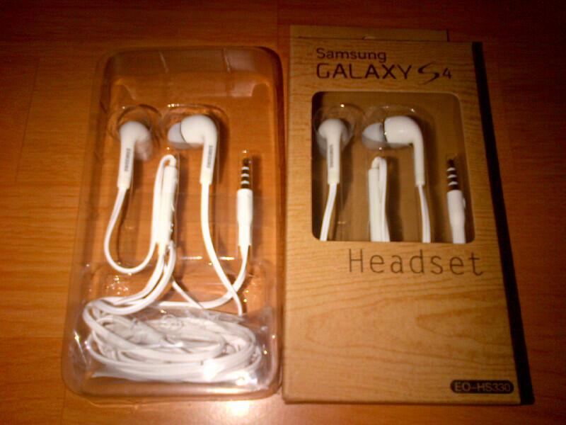 Headset Samsung Galaxy packing ori suara yahuudd