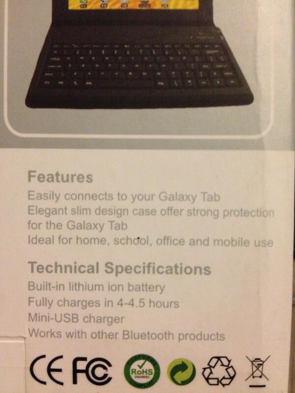 """WTS Keyboard Bluetooth Tab 7"""""""