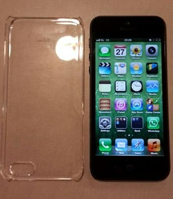 Jual Iphone 5 16 GB Hitam baru 2 bulan