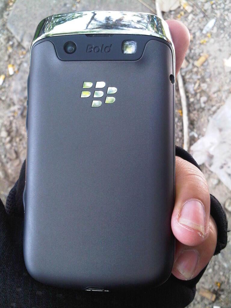 BLackberry 9790 Belagio, Black, segel, Mulus Cod Bandung kota