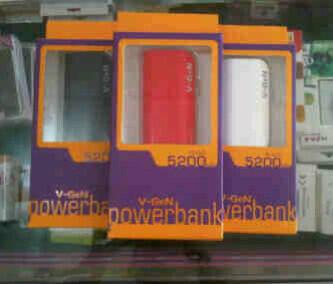 Grosir Powerbank Cross 3000mah & Powerbank Vgen 5200mah Murah