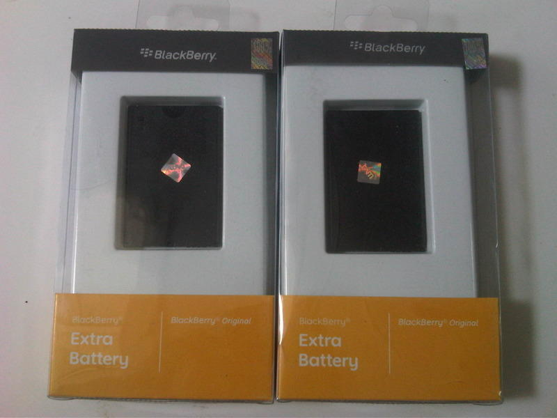 Jual Battery BB Original 100 % ASLI