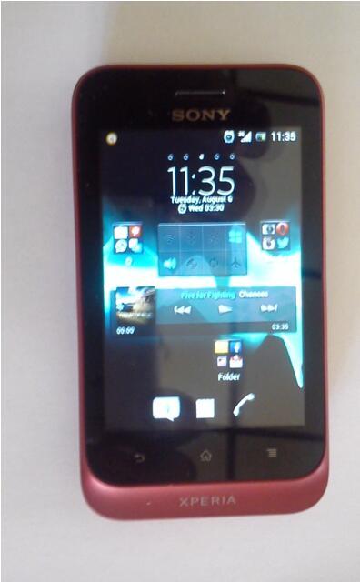 Sony Xperia Tipo St21i Surabaya Kondisi 95%