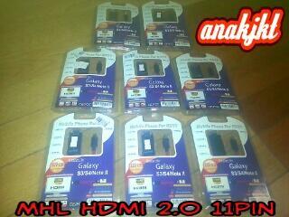 MHL HDMI 2.0 untuk samsung s4