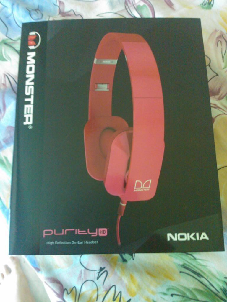 Jual NOKIA PURITY HD STEREO HEADSET BY MONSTER