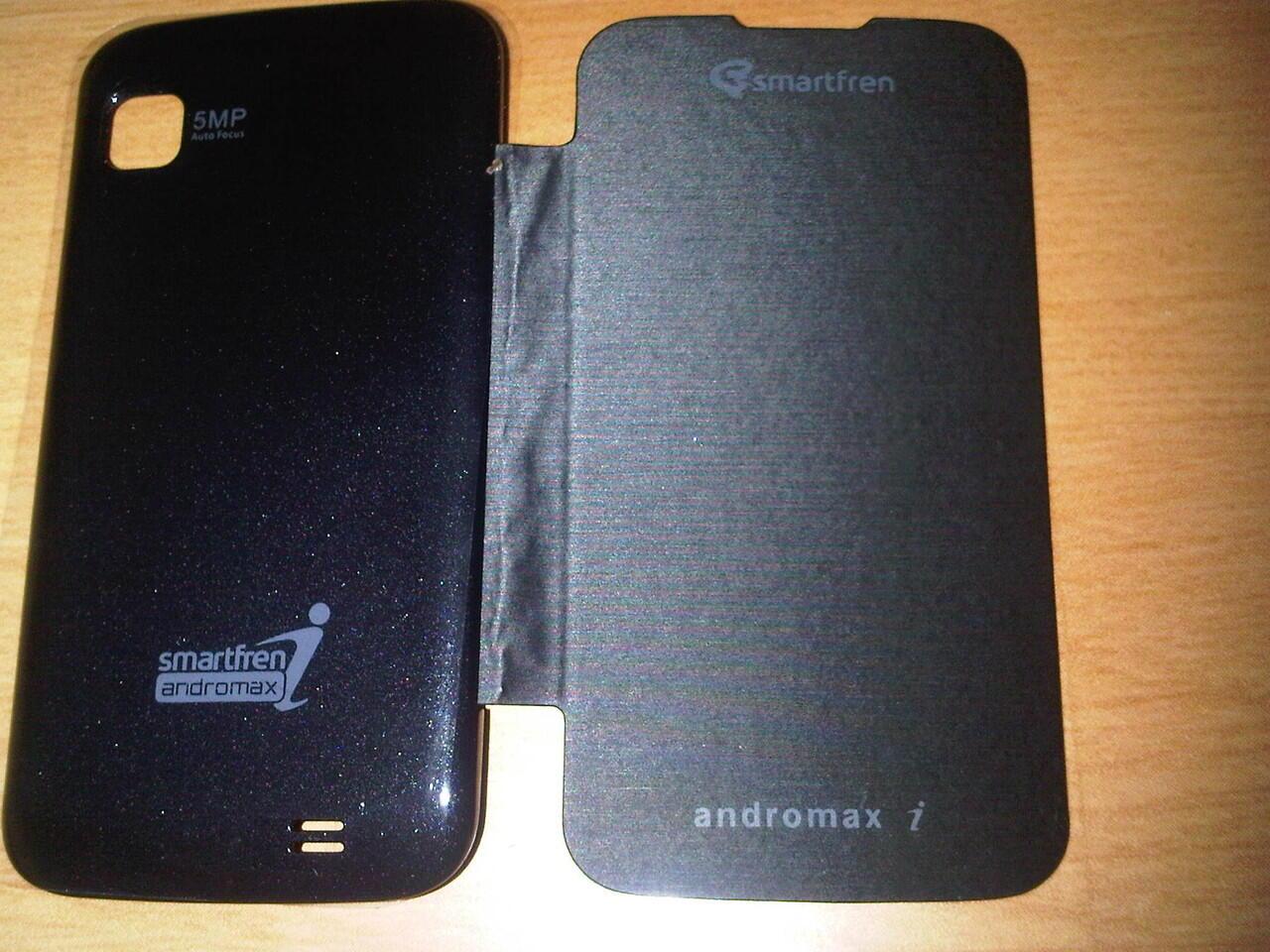 Accessories Andromax V, Andromax C, Andromax U, Andromax I ~ Flipcover & Silicon Case