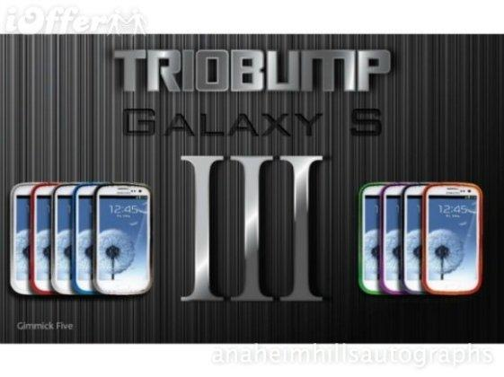 TRIOBUMP ALUMUNIUM BUMPER CASE FOR SAMSUNG GALAXY S3