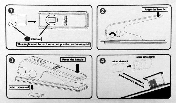 Alat Pemotong SIM CARD Murah