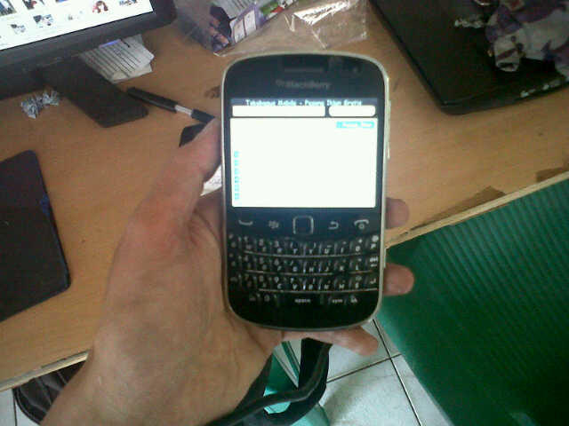 jual blackberry dakota 9900