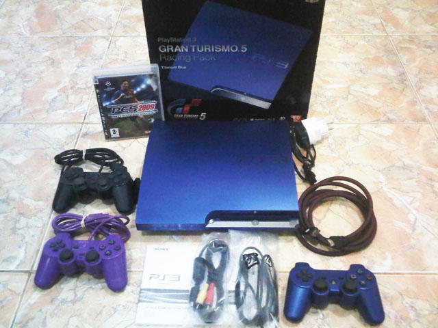 PS3 Slim 160GB Limited Edition GT || Seri Cech 2512A || Cfw 4.46 || Fullset & Mulus