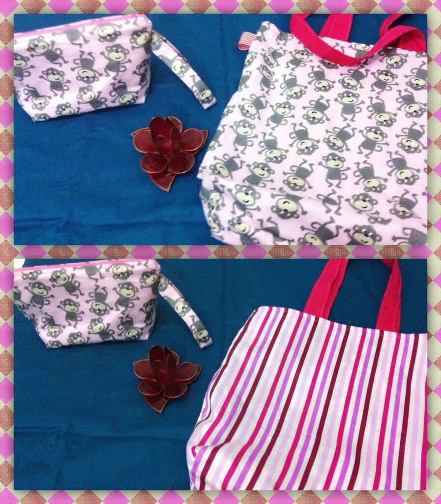 Handmade Tote Bag 40ribu dan Pouch 20ribu (Jogja)