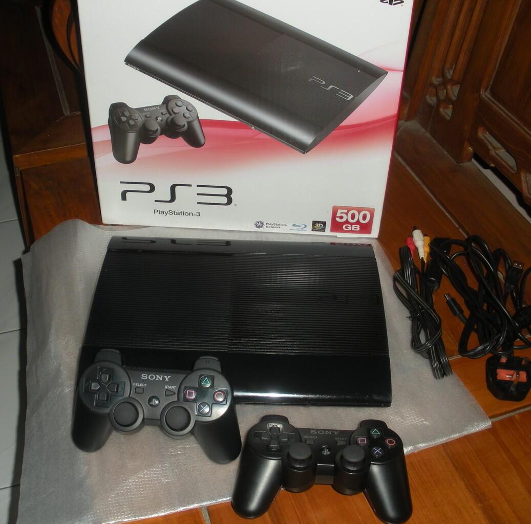 PS3 Superslim/super slim 500gb++ (SOLO) Murah!!