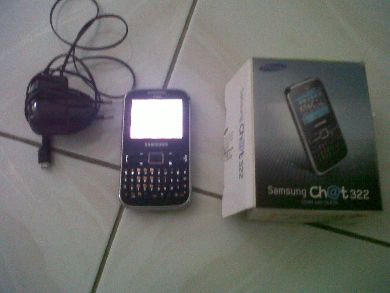 WTS samsung chat 322 murah