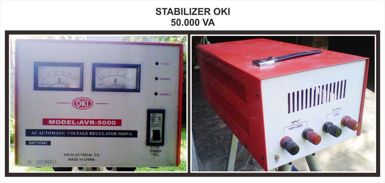 Stabilizer OKI , 50.000 VA