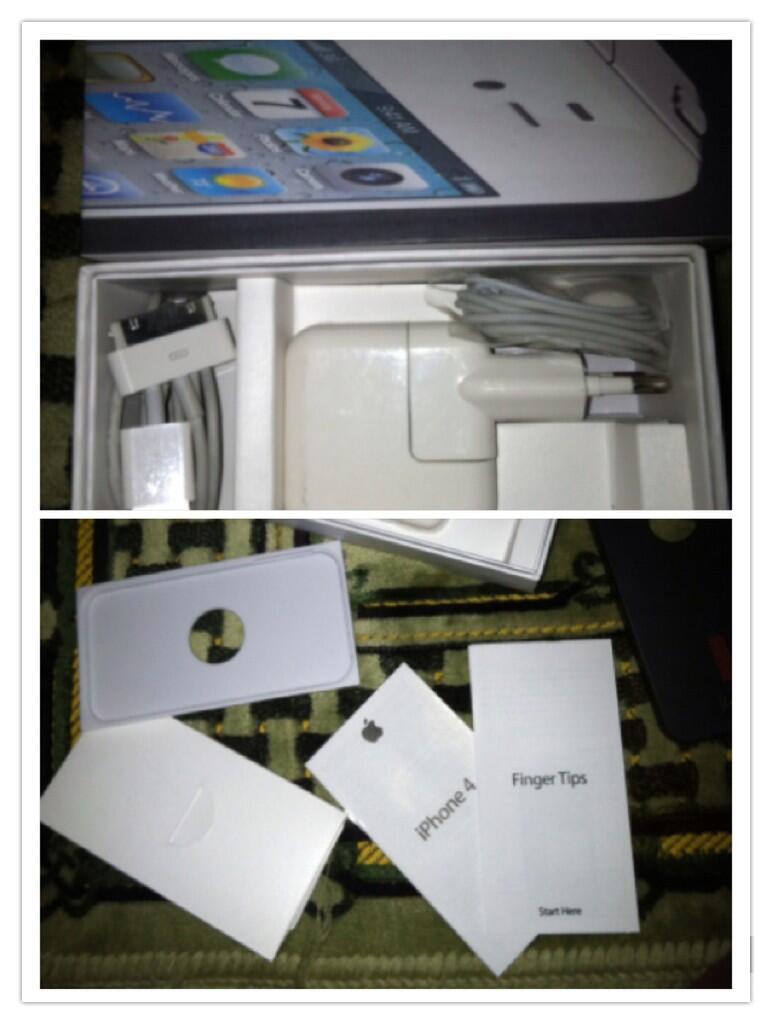 iPhone 4 CDMA White 32Gb FU murmeeeeerrrr