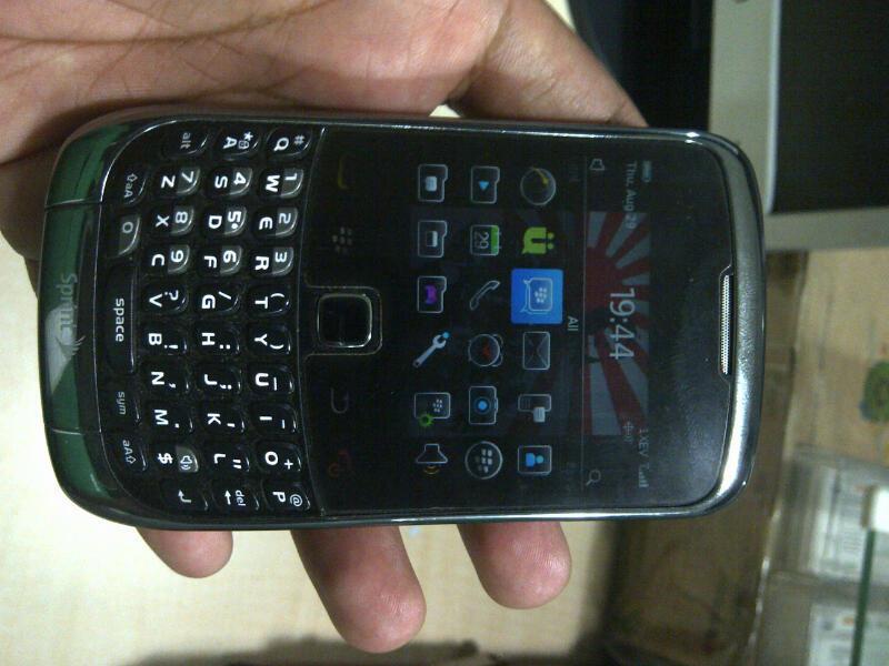 BB 9330 CDMA Gemini 3G Mulus Black - Sprint