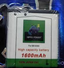 Battery Hippo Blackberry Double Power Murah & Berkualitas