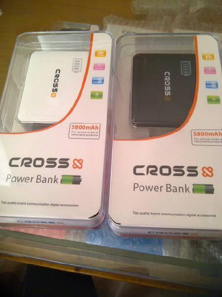 Power Bank Cross 5800 mah