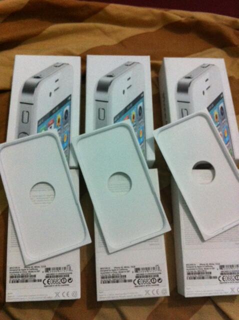 [dus iphone] dus iphone 4s white