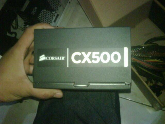 PSU Corsair CX 500w 80+ & Rosewill 750w Modular 80+ Bronze Garansi Panjang