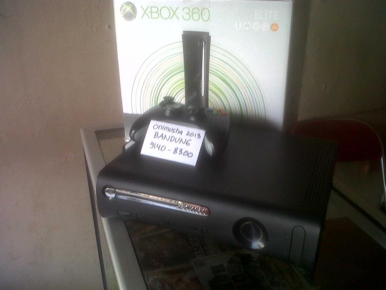 XBOX 360 Jasper Elite 120GB RGH Fullset. METRO BANDUNG.