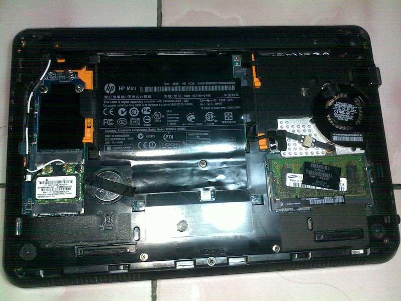 Casing, Lcd, Touchpad Dan Speaker Hp Mini 210-1014tu