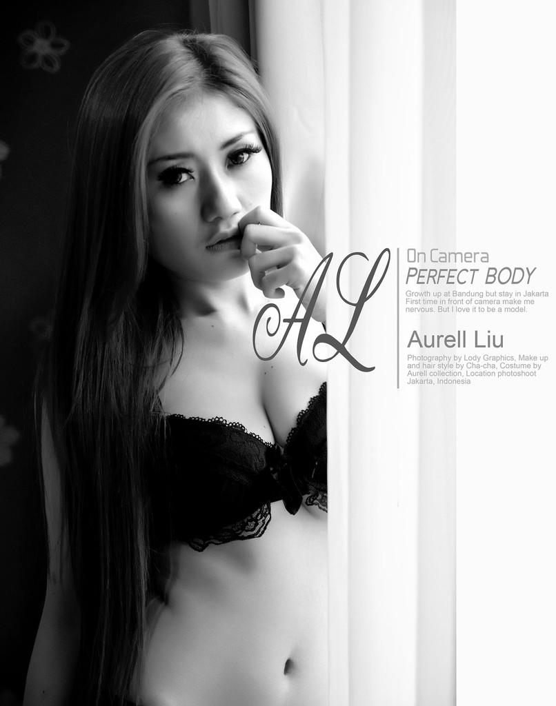 Models aurell liu black and white photos 17 hot