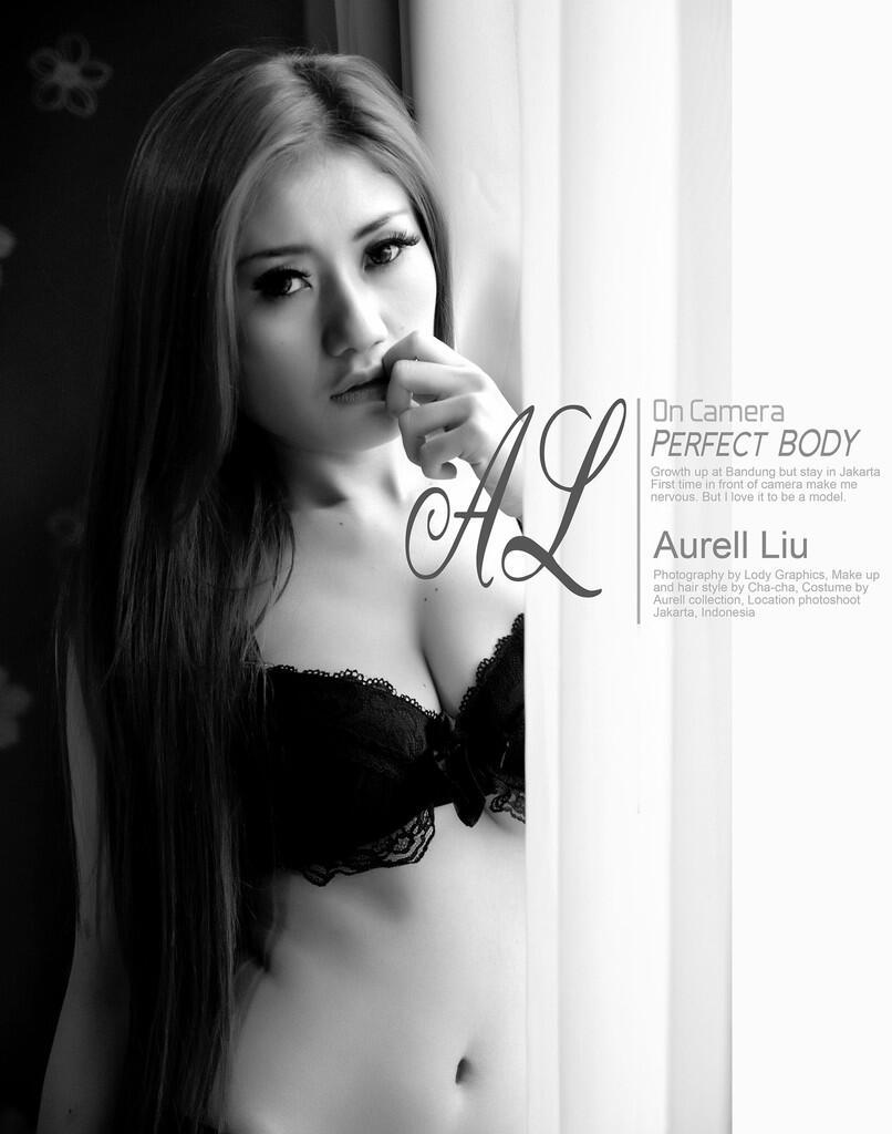 Models aurell liu black and white photos 17 hot kaskus