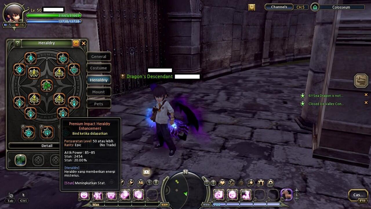 J>Cepat Butuh Uang Char DragonNest INA Destroyer Keren Murah