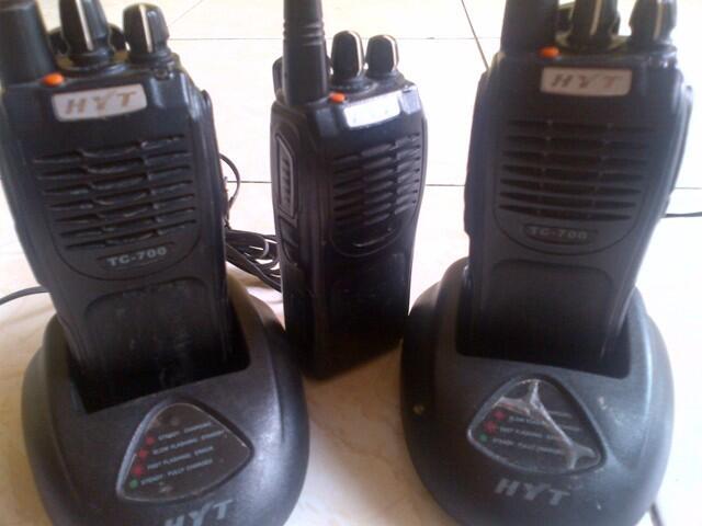 [wts] Radio HT HYT TC-700 ada 3 unit [dijual cepat]