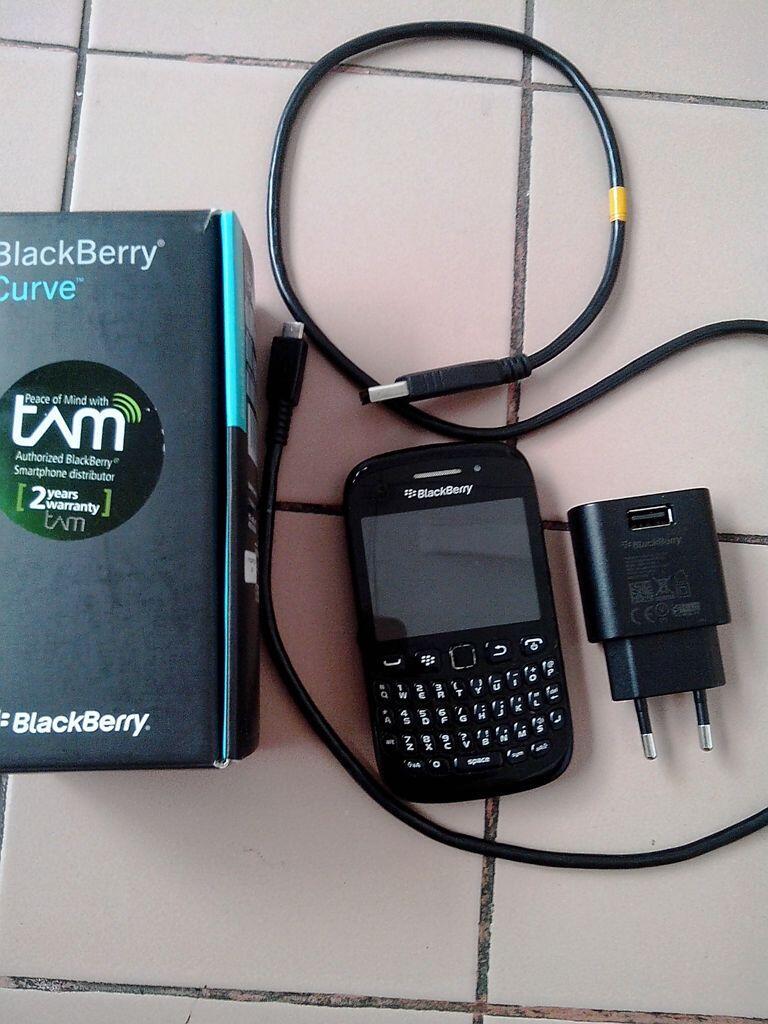 WTS Blackberry 9220 Davis Garansi TAM Hitam
