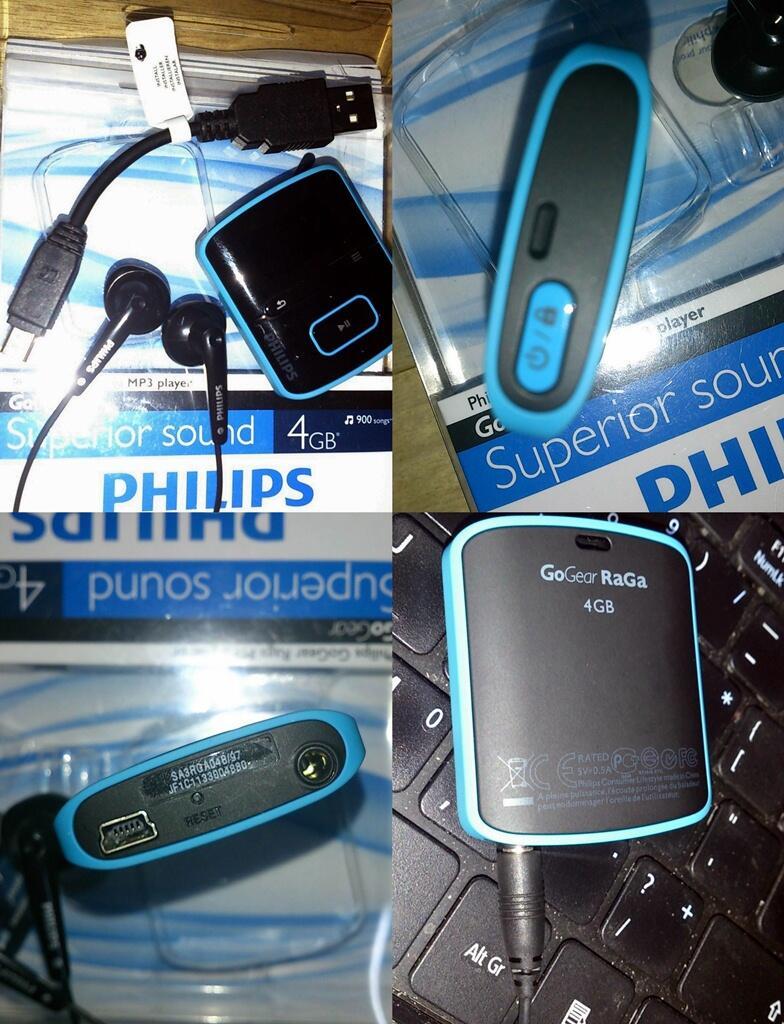 MP3 Player Philips Go Gear Raga 4GB
