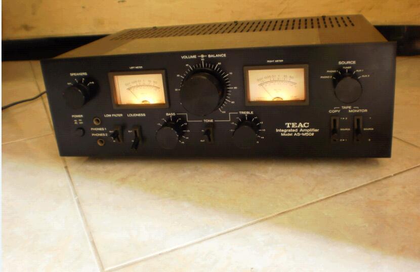 == Class Vintage n Rare Amplifier Teac AS-M50B ==