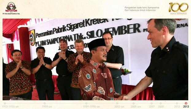 ~๑~ Sejarah Perjalanan 100 tahun Sampoerna di Indonesia.~๑~