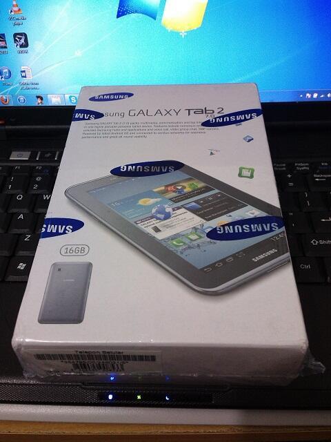samsung Galaxy Tab 2 P3100 New bergaransi