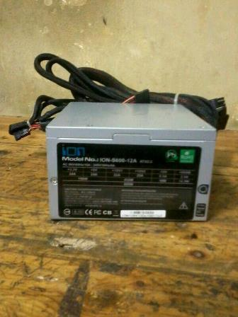 power suply pure 500 550 600 watt