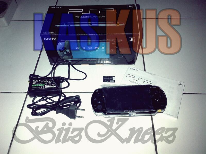 WTS [Woles] PSP 1000 Black Piano Gress || Bandung