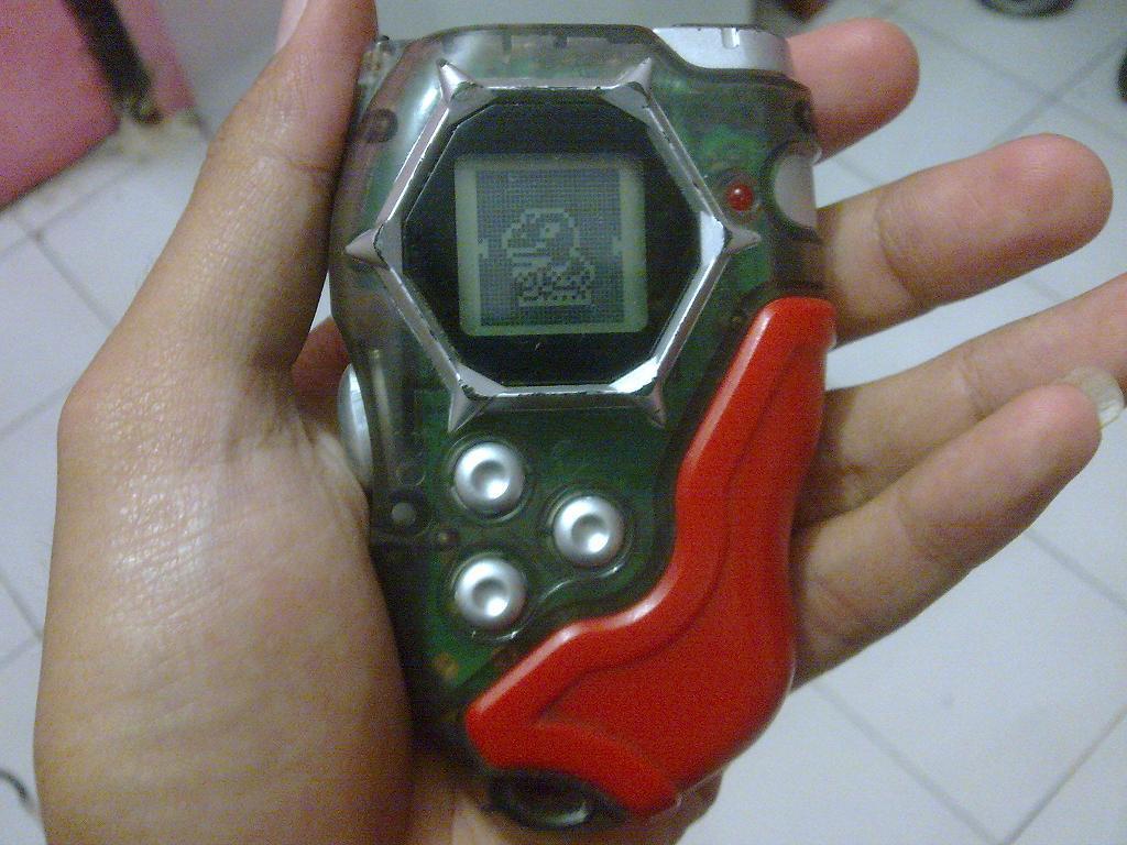 Ane Wts/Dijual Digivice D-Tector (D Tector) Digimon Asli Original Bandai Murah