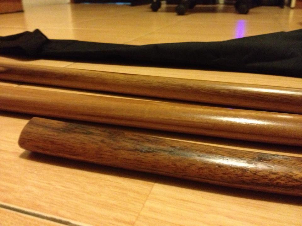 jual pedang kayu(bokken),,,,Tongkat kayu(JO),,pisau belati(tanto)...Pedang Kendo