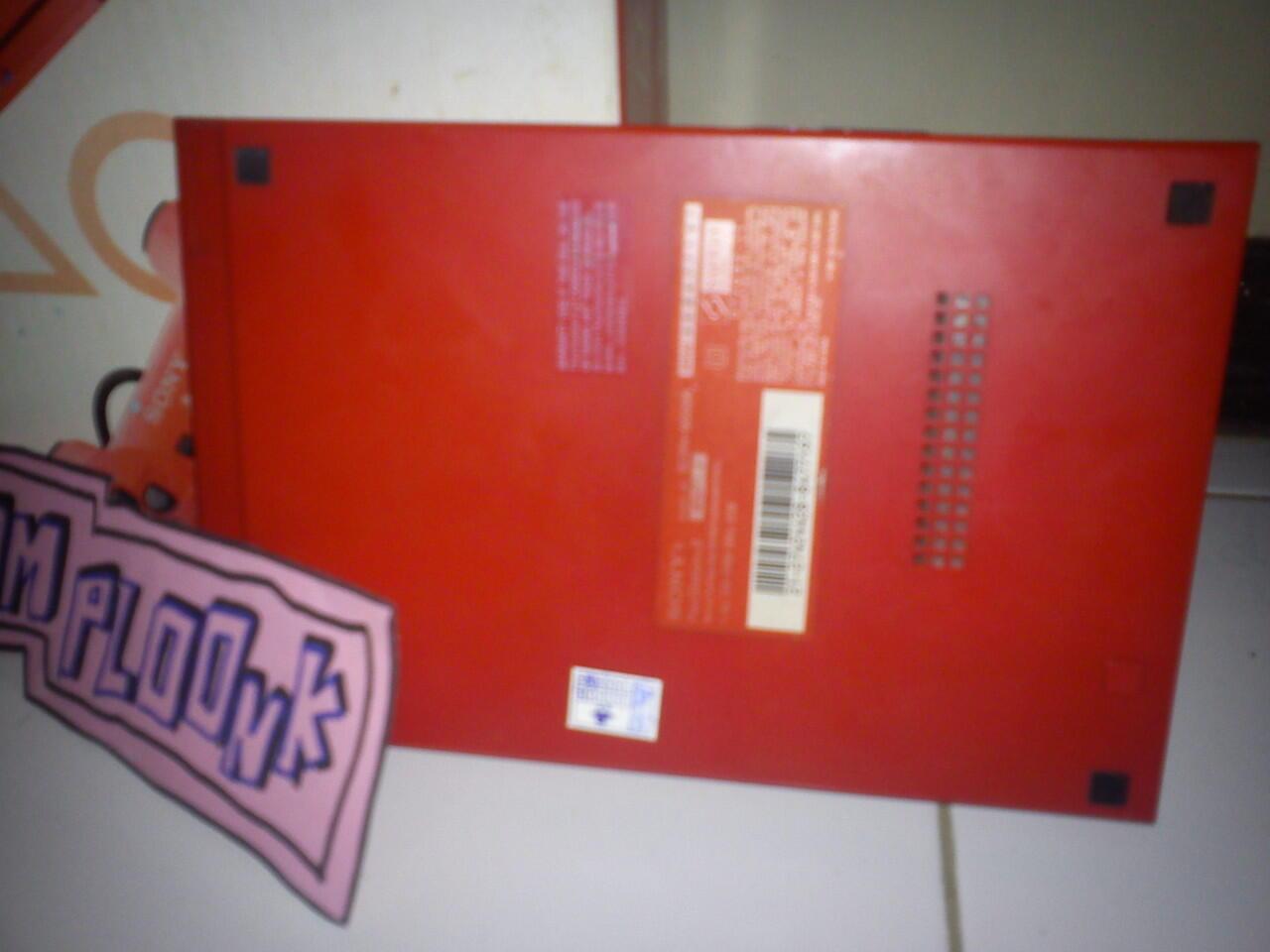"""ps2 slim 3006 merah (bersegel) lumayan mulus full set """"nego"""" malang"""