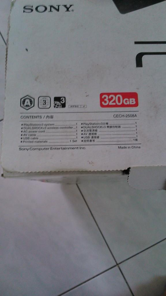 J> PS3 Slim 320GB SECOND MURAH DAN MULUS