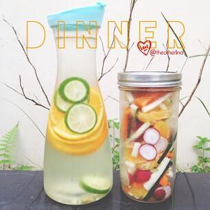 Mengenal Infused Water,Cara Asyik Minum Air Putih